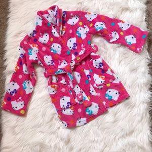 Hello Kitty Pink Bathrobe | 6X